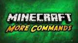 More Commands Mod 1.12.2/1.11.2 Download