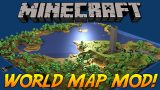 World Map Mod 1.12.2/1.11.2 Download